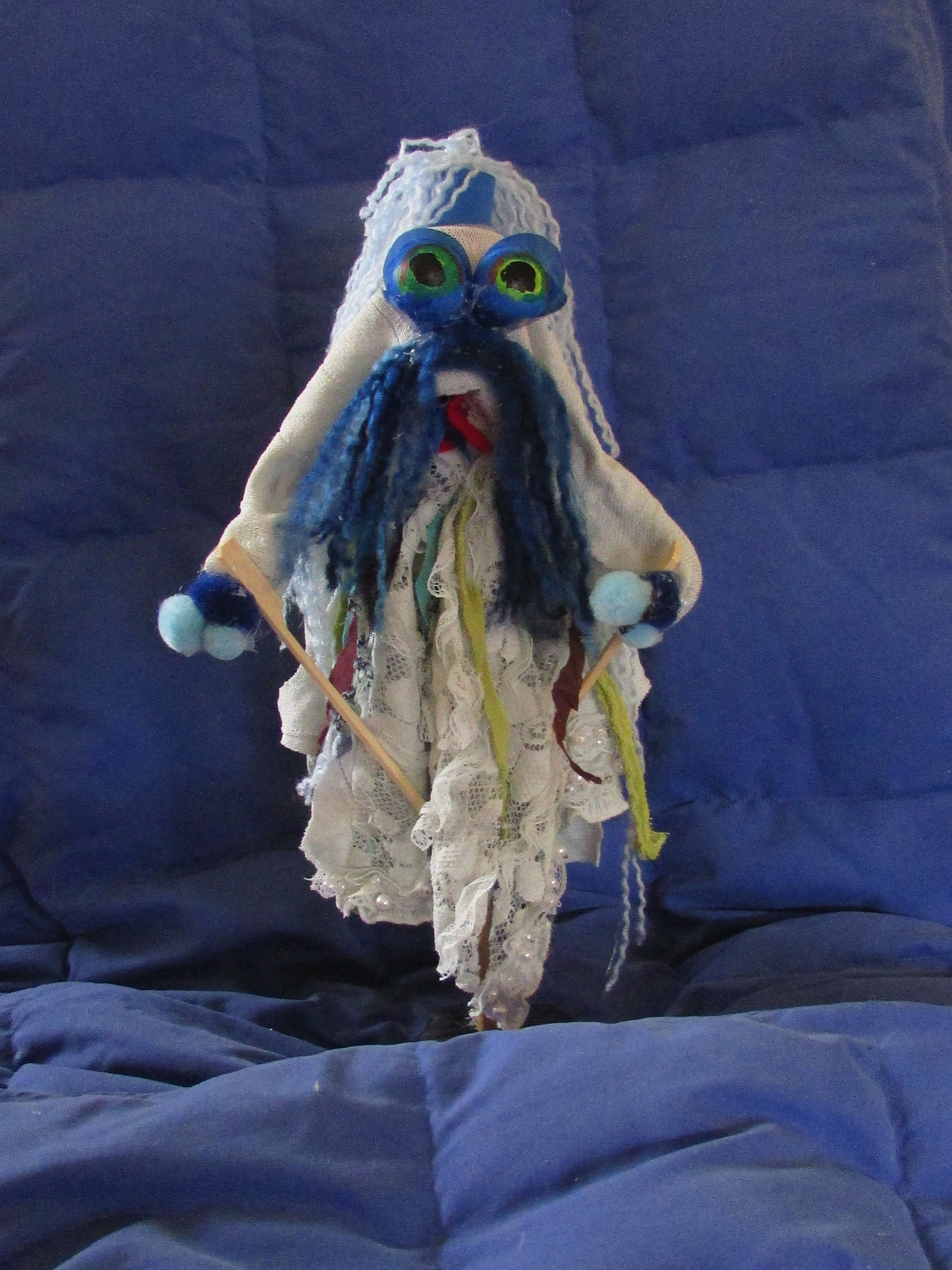 Flood Project Puppet - The Wave Master